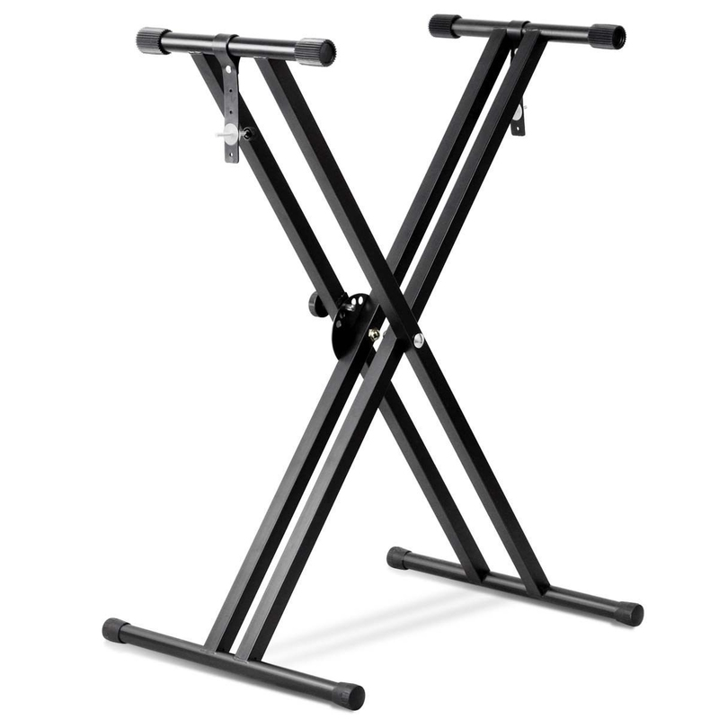 digi parts music musical classic double x keyboard stand 80 075. Black Bedroom Furniture Sets. Home Design Ideas