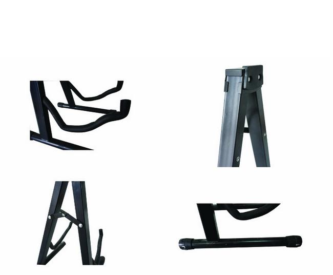 digi parts compact portable folding a shape guitar stand 80 073. Black Bedroom Furniture Sets. Home Design Ideas