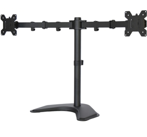 Economy Dual Free standing Monitor Stand Mount for Monitors Up t