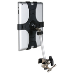 Microphone Mic Music Stand Mount holder clip for apple ipad 2nd