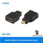 HDMI female to Micro HDMI Male