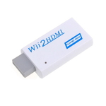 Wii to HDMI Video Converter Adapter 720P/1080P Upscaler with 3.5
