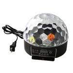 Digital LED RGB Crystal Magic Ball Effect Light DMX Disco DJ Sta