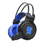 Vibration 3.5mm Stereo LED Lighting Over-Ear Gaming Headphone