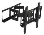 "Medium Full Motion LCD LED Plasma dual arm Wall Mount for 22""-55"