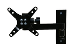 Flat Panel Monitor LCD TV Wall Mount with single Articulating Ar