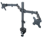 Dual LCD Monitor Desk Mount Stand Fully Adjustable upto 27""
