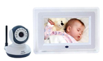 "2.4G Wireless Baby Monitor with 7"" LCD, Night Vision and 2 way s"
