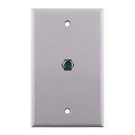Wall plate, Single, F81, 3GHz, white