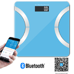 400 lbs Wireless Bluetooth Digital Bathroom Scale with IOS and A