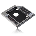 SATA 2nd HDD HD Hard Drive Caddy Case for 12.7mm Universal Lapto