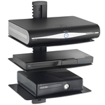Wall Mount Three Triplel Layer AV Shelf DVD Cable box, Game Cons